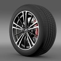 maya subaru brz wheel 2013