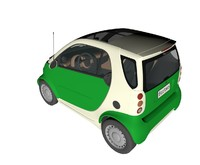 smart city car 3ds