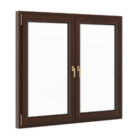 3d openable wooden window 1730mm