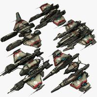 5 small frigates max