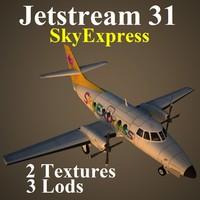 british aerospace 31 sxr 3d model