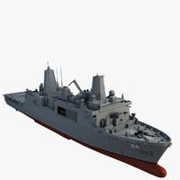 uss arlington 3d model