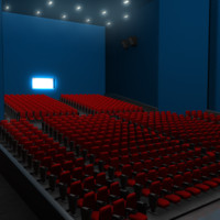 movie theater obj