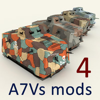 3ds max a7v tanks