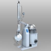 chemistry evaporator rotary 3d model