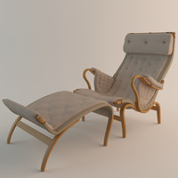 3d model dux pernilla chair