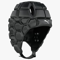 3d rugby helmet model