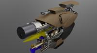 3d model zorg zf1 gun
