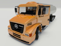mercedes benz atron 2324 3d 3ds