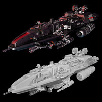 spaceship guns 3d 3ds