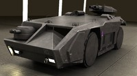 m577 armored personnel carrier 3d obj