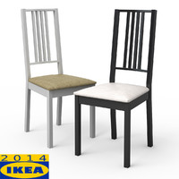 borje dining chair 3d 3ds