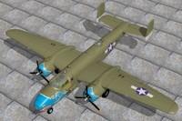 maya north american bomber b25c