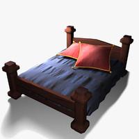 3d xi century bed model