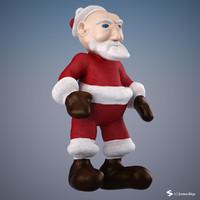 3d max santa rigged