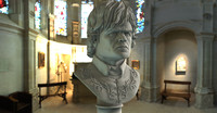 3d bust tyrion lannister peter