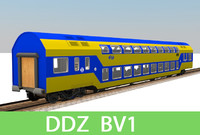 3ds max passenger train