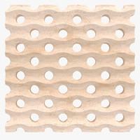 wall tiles 3d 3ds