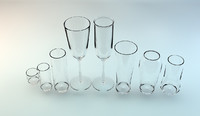 3ds max glassware glass