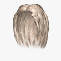 3d model jennifer hair