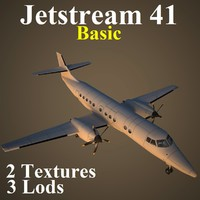3d british aerospace 41 basic