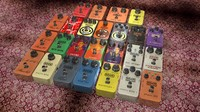 mxr guitar pedals dunlop 3d model
