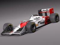 McLaren Honda Mp4-4 Ayrton Senna F1