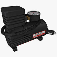 3d portable auto air compressor