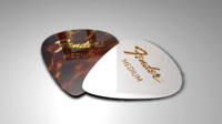 3d guitar picks model