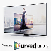 3d samsung curved smart uhd model