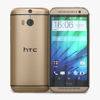 3ds htc m8 amber gold