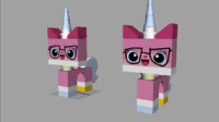 lego movie 2013 3d model
