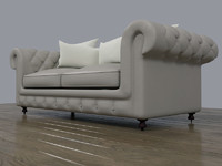 maya leather chesterfield sofa