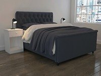 max stylish bedroom scene bed
