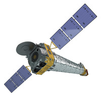 chandra x-ray observatory 3d model
