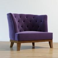 3d opera armchair