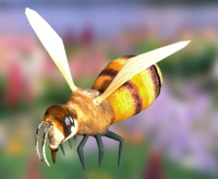 3d 3ds bee animation
