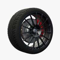 nitro extreme wheel obj