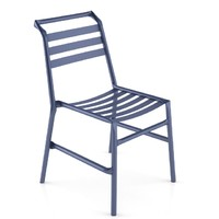 bla straw metal chair