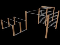 3d model rack crossfit fit