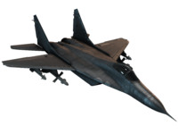 jet tactical fighter 3d model