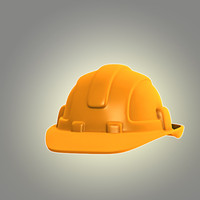 cartoon hard hat 3d max