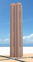 skyscraper nr 16 3d model