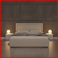 3ds max nice bed 07