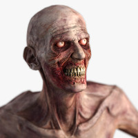 zombie - character 3d model