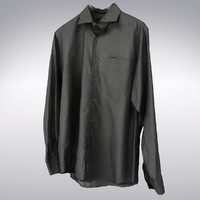 3d men s gray shirt model