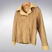 sheepskin pilot jacket scanning 3d max