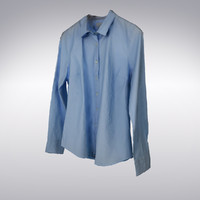 men s blue shirt 3d max