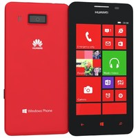 model huawei ascend w2 red