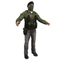 ira terrorist 3d ma